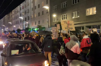 Gdyński protest na Świętojańskiej
