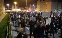 Tłum na Podwalu Przedmiejskim