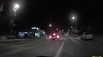Niebezpieczne zachowanie kierującego na drodze