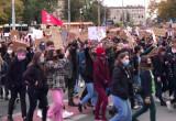 Manifestacja młodzieży ruszyła w kierunku Zieleniaka