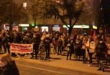 Protestujący blokują centrum Wrzeszcza