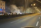 Trwają protesty we Wrzeszczu - liczba osób nie maleje
