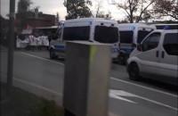 Protesty w Gdańsku: zablokowane centrum miasta