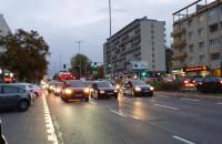 Ruszył strajk samochodowy na Władysława IV w Gdyni