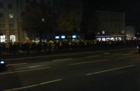 Protestujący blokują al. Grunwaldzką w kier. Oliwy