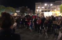 Spokojna manifestacja w Sopocie