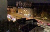 Strajki aut spotkały się we Wrzeszczu.