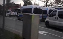 Zablokowane centrum Gdańska - trwają protesty
