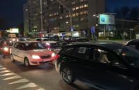 Protest samochodowy na Władysława IV w Gdyni