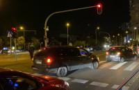 Samochodowy protest jedzie na Chwarzno