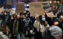 Strajk Kobiet w Gdyni wystartował o godz....