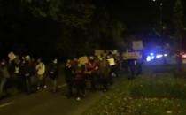 Protest idzie przez Sopot
