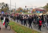 Marsz na al. Grunwaldzkiej w Gdańsku