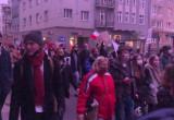 Marsz uczniów w Sopocie