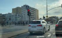 Rowerowy protest jedzie przez Wrzeszcz