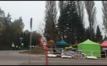 Straż Miejska przy Cmentarzu Łostowickim