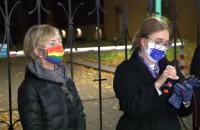 Wypowiedź Magdaleny Adamowicz na proteście w Gdańsku