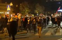 Motocykliści przywitali marsz pieszy