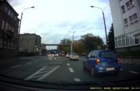 Jazda na suwak i agresywny kierowca