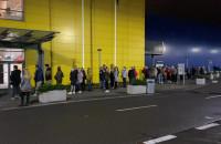 Ikea zamknięta od soboty. W piątek ogromna kolejka