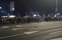 Przemarsz protestujących z Oliwy do centrum