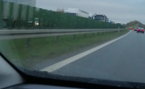 Korek na obwodnicy od A1 do węzła Matarnia