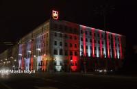 Iluminacje w Gdyni z okazji Święta Niepodległości