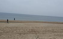 Jesień na plaży Sobieszewo