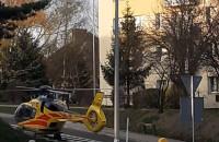 Lądowanie helikoptera ratunkowego w Gdyni