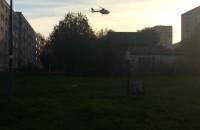 Lądowanie śmigłowca LPR