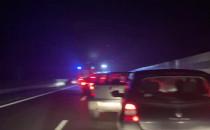Poważny wypadek na trasie S7