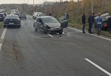 Wypadek kilku aut na Armii Krajowej w Gdańsku