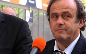 Prezydent UEFA Michel Platini