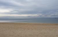 Na plaży w Brzeźnie cisza i spokój