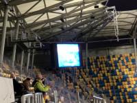 Doping dla Arki Gdynia, mimo zamkniętych trybun