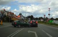 Piraci drogowi nagrani przez kierowców