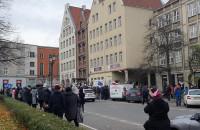 Protest w obronie praw kobiet w Gdańsku