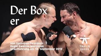 "Trailer spektaklu ""The Boxer"""
