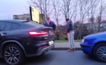 Kolizja na skrzyżowaniu Wielkopolskiej i...