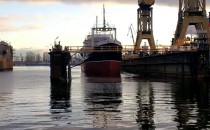 Sołdek wychodzi z doku