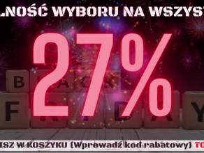 RABAT 27%  OKAZJA !!!