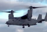 Amerykański Boening V-22 Osprey latał nad Westerplatte