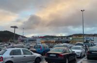 Zapchany parking Tesco Chylonia
