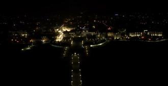 Gaśnie molo w Sopocie - widok z drona
