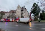 Wciąż trwa akcja gaśnicza przy Niepodległości w Sopocie