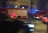 Film z porannego pożaru kamienicy przy al. Niepodległości w Sopocie