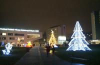 Iluminacje świąteczne w Gdyni już odpalone