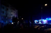 Skutki pożaru na Chełmie