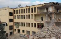 Znika dawny bydynek psychologii UG w Jelitkowie