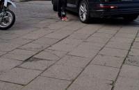 Sposób na cwaniaków jeżdżących chodnikiem